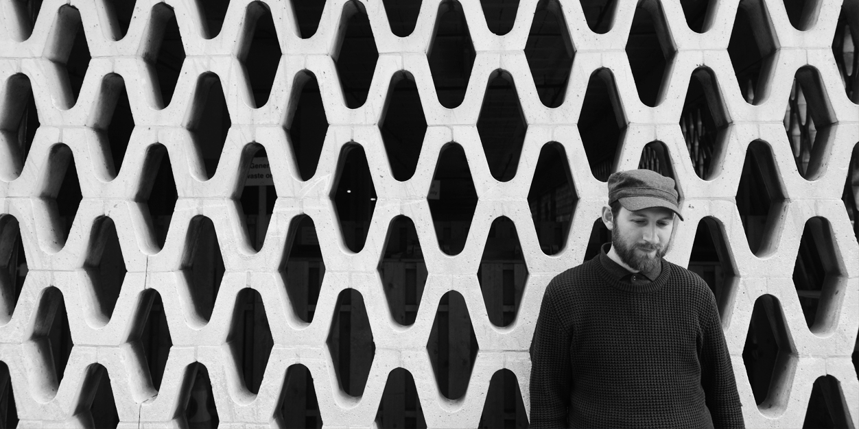 Matthew Halsall promo photo 3 banner crop black & white (2014)