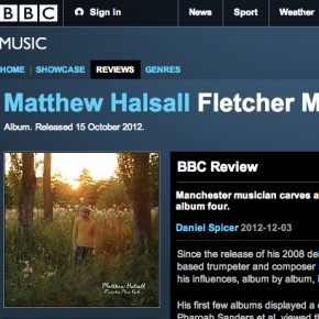 Matthew Halsall: Fletcher Moss Park - BBC Music Review