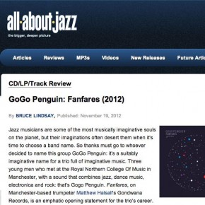 GoGo Penguin: Fanfares - All About Jazz Review