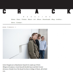 GoGo Penguin - Interview in Crack Magazine