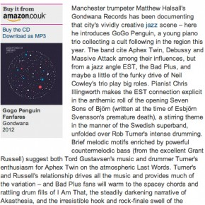 GoGo Penguin: Fanfares - Guardian Review