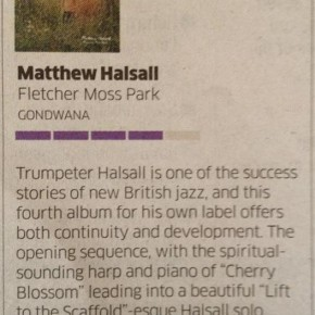 Matthew Halsall: Fletcher Moss Park - The Independent On Sunday Review