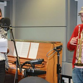 Matthew Halsall & Josephine Oniyama collaboration for BBC Radio 3′s show The Verb