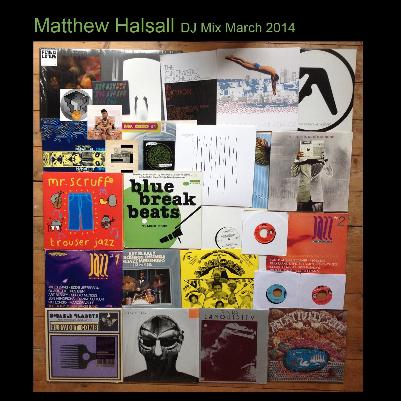 Here's the third instalment of Matthew Halsall's monthy dj mix series.