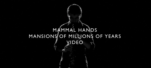Check out this amazing video by new signing Mammal Hands!!