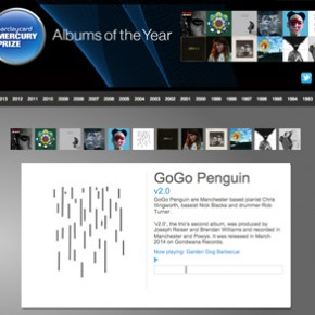GoGo Penguin's v2.0 album is a Barclaycard Mercury Music Prize 2014 Album of the Year