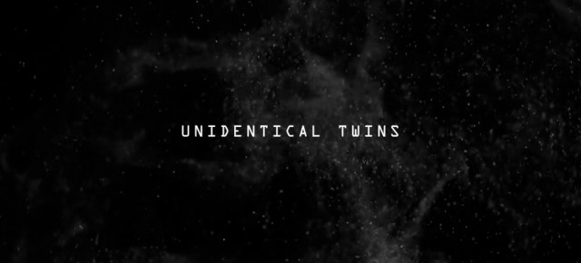 Check out this wonderful video for John Ellis's track Unidentical Twins