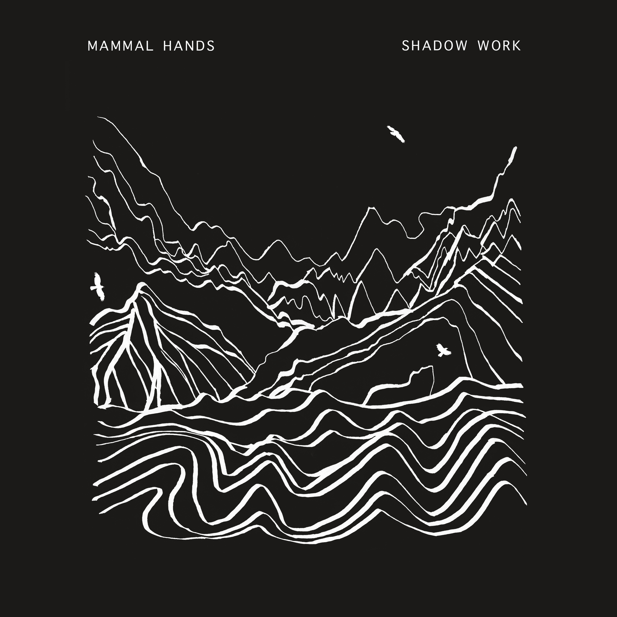 Out Now – Mammal Hands – Shadow Work – CD / DL / T-Shirt