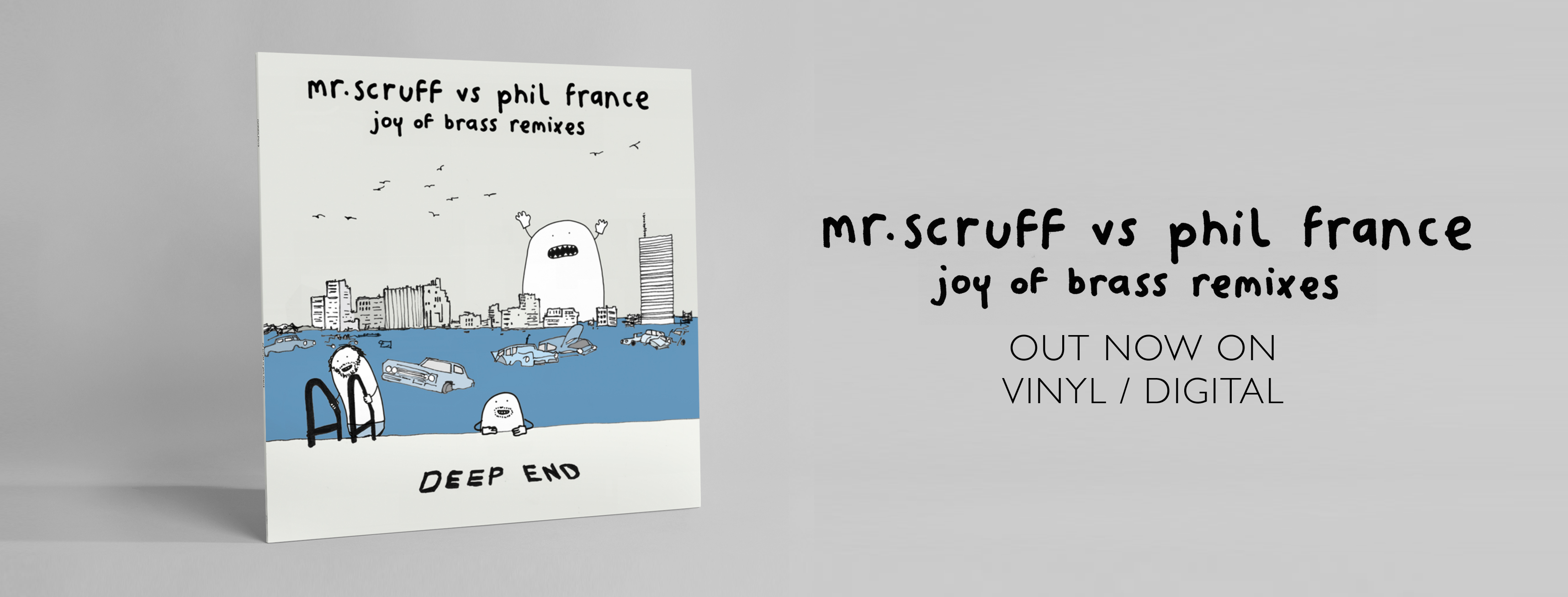 Mr. Scruff Vs Phil France Joy of Brass (Facebook Banner) OUT NOW