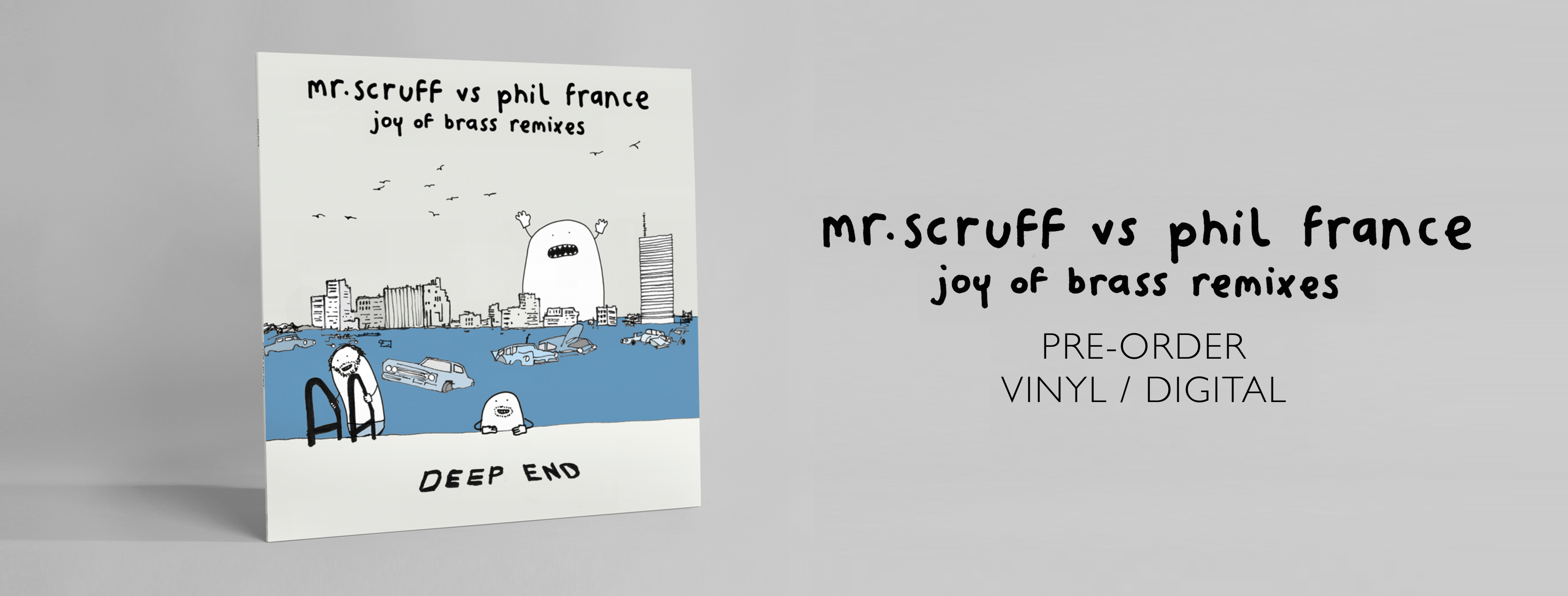 Mr. Scruff Vs Phil France Joy of Brass (Facebook Banner) PRE-ORDER