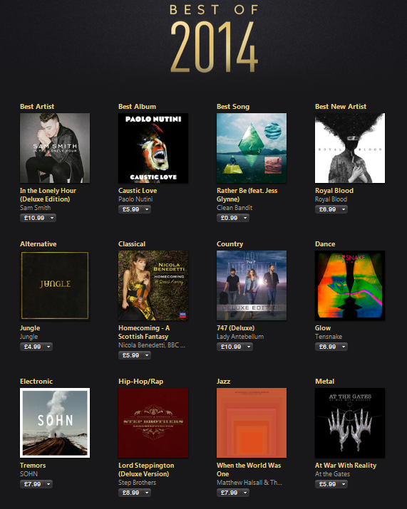 Matthew Halsall iTunes UK Jazz best of 2014 pag