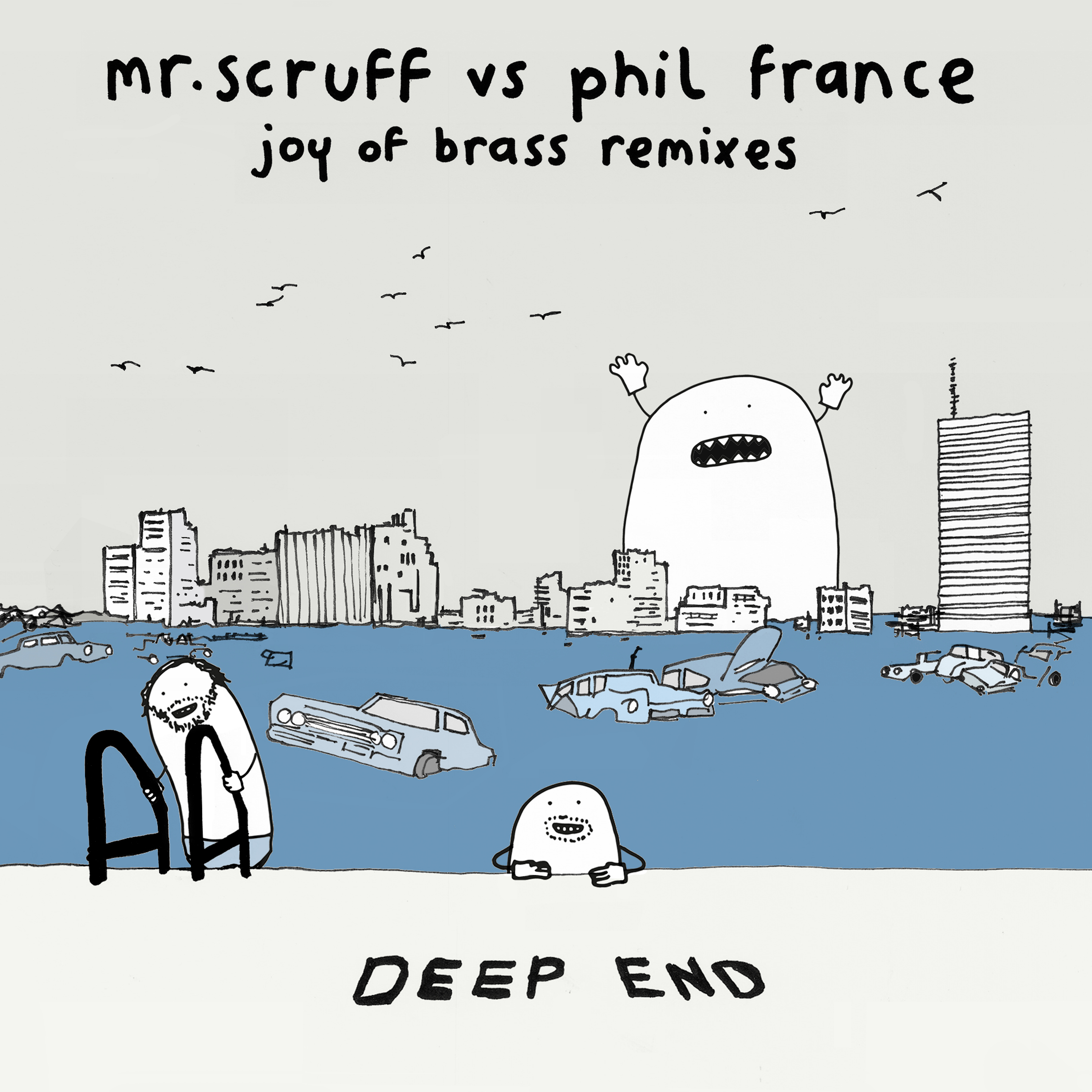 Out Now – Mr. Scruff Vs Phil France: Joy of Brass Remixes 12″ / DL